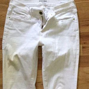 Frame jeans white